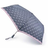Женский зонт Fulton Open&Close Superslim-2 L711 Flower Power (Сердечки)
