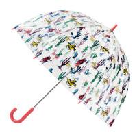 Детский прозрачный зонт-трость Cath Kidston by Fulton C723 Funbrella-2 Desert Cowboy (Ковбой)