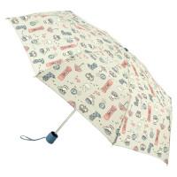 Женский зонт механический Fulton Stowaway-24 G701 - London Day Out (День Лондона)