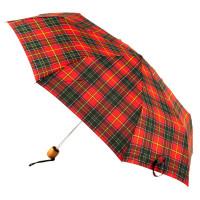 Женский зонт Fulton Stowaway Deluxe-2 L450 - Royal Stewart (Королевский Стюарт)