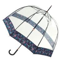 Женский зонт Fulton Birdcage-2 Luxe L866 Luminous Floral (Светящиеся цветы)