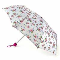Женский зонт Fulton Minilite-2 L354 - Watercolour Blossom  (Акварельный цветок)