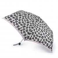 Женский зонт Fulton L902 Superslim-2 Leonard Border (Леопард)