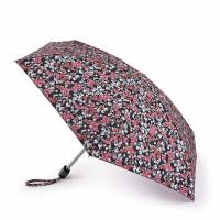 Женский мини (карманный) зонт Fulton L501 Tiny-2 Floral Cluster (Цветочный кластер)