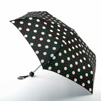 Женский зонт Lulu Guinness by Fulton Minilite-2 L869 Polka Lips (Горошек)