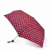 Женский зонт Lulu Guinness by Fulton Minilite-2 L869 Polka Pearls (Жемчужный горох)