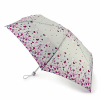 Женский зонт Fulton L902 Superslim-2 Pretty Hearts (Сердца)