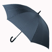 Мужской зонт-трость полуавтомат Fulton Knightsbridge-2 G451 - City Stripe Navy (Синий)