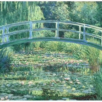 Женский зонт Fulton The National Gallery Tiny-2 L794 Water Lily Pond (Пруд)