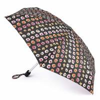 Женский мини зонт Fulton Tiny-2 L501 Floral Chain (Цветочная цепочка)